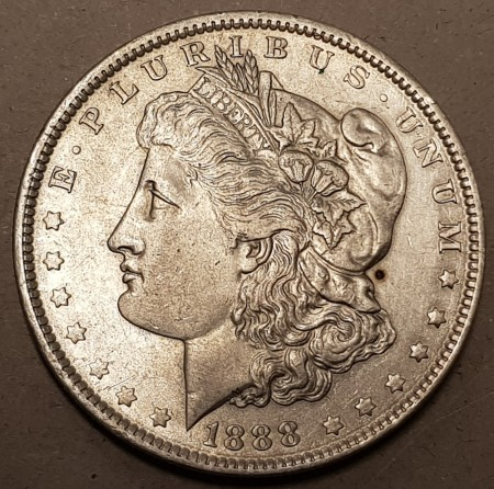 Morgan dollar 1888 kv. 1