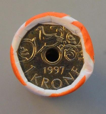 1 kr rull 1997 -