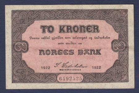 2 kr 1918 og 1922 Type I