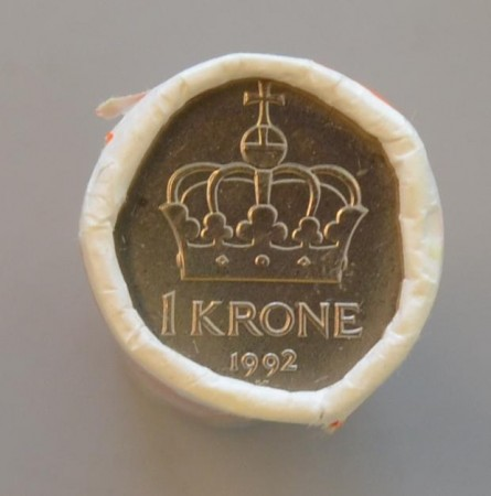 1 kr rull 1992 - 1996