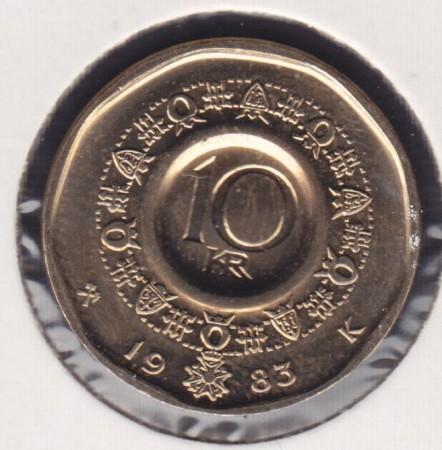 10 kr 1983 - 1991