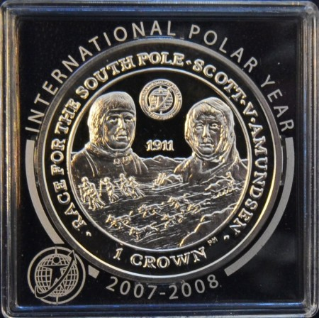 Falklandsøyene: 1  crown 2007