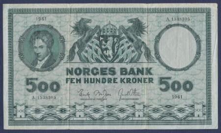 500 kr 4. utg. 1948 - 1976