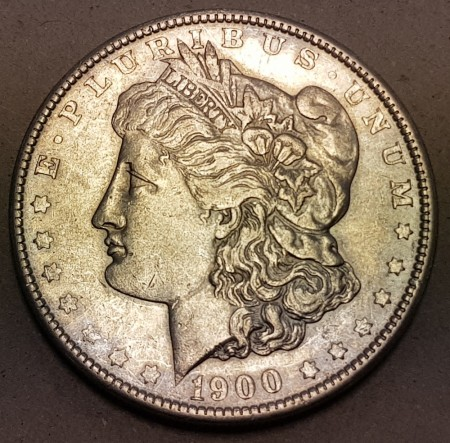 Morgan dollar 1900 kv. 1