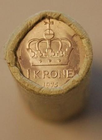 1 kr rull 1974 - 1991