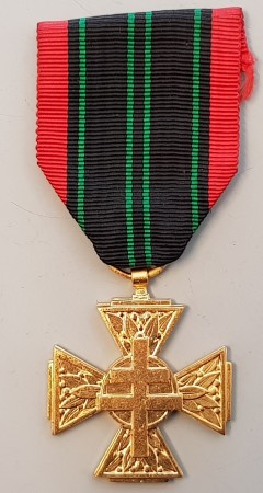 "Fransk ""motstandsmedalje"" - Cross of the Resistance Volunteer Combatant"