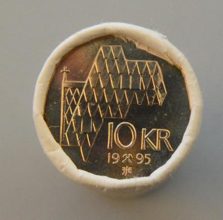 10 kr 1995 - 2013 på rull